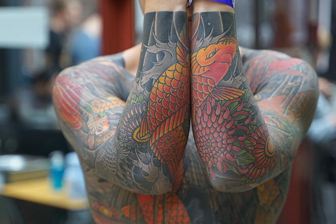 The London Tattoo Convention 2019 Tobacco Dock